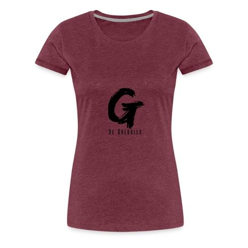 De Greggies - Sweater + capuchon - Vrouwen Premium T-shirt