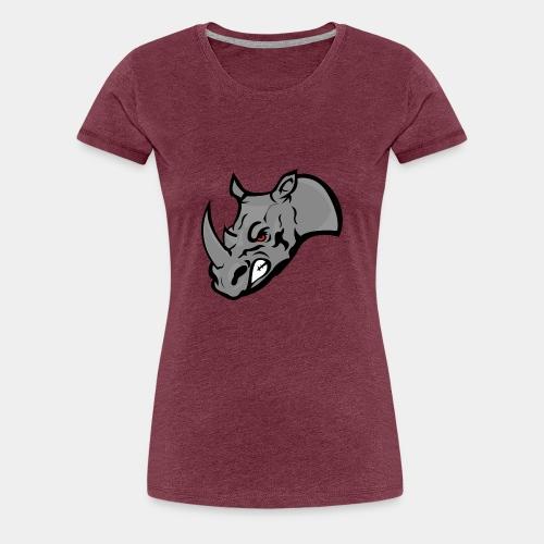 Rhino Mascot design - Women's Premium T-Shirt