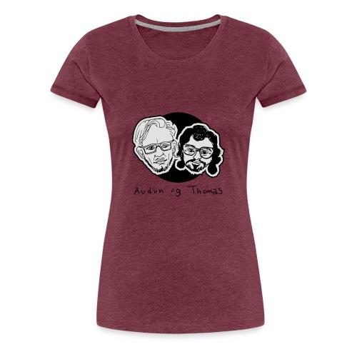 Audun og Thomas - Premium T-skjorte for kvinner