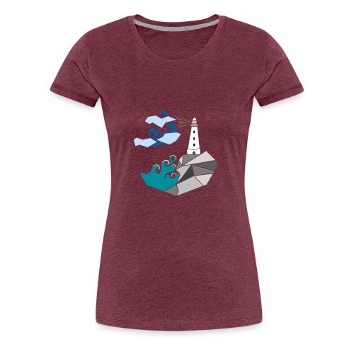 lighthouse - Premium T-skjorte for kvinner