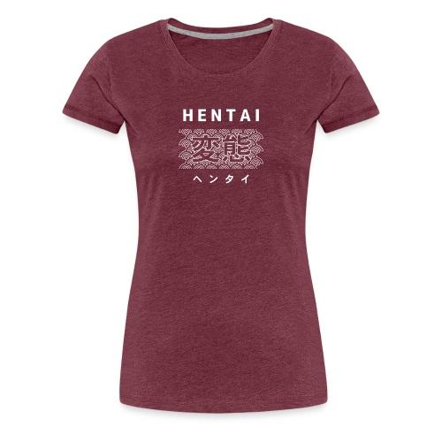 Hentai anime logo - Dame premium T-shirt