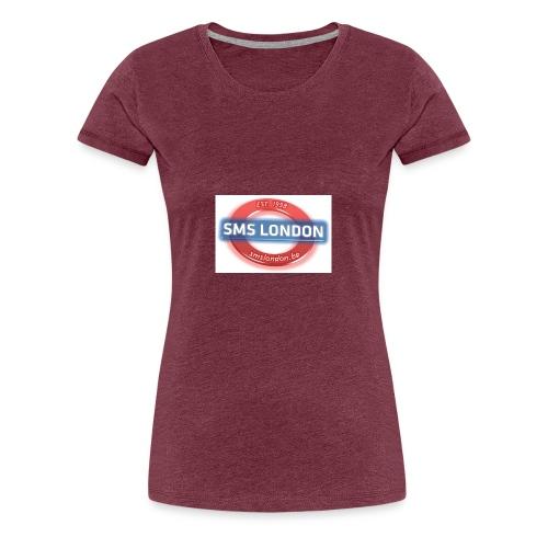 SMS London logo - Vrouwen Premium T-shirt