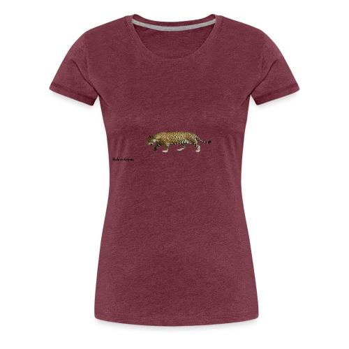 Tiger Made On Kegnæs - Dame premium T-shirt