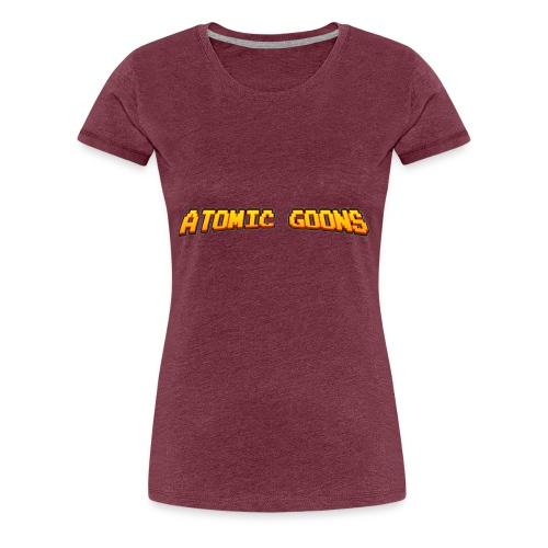 AG_Snapback gray - Premium T-skjorte for kvinner