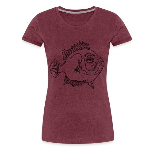 Fische Barsche Ozean Meerwasser Aquarium Angeln - Frauen Premium T-Shirt
