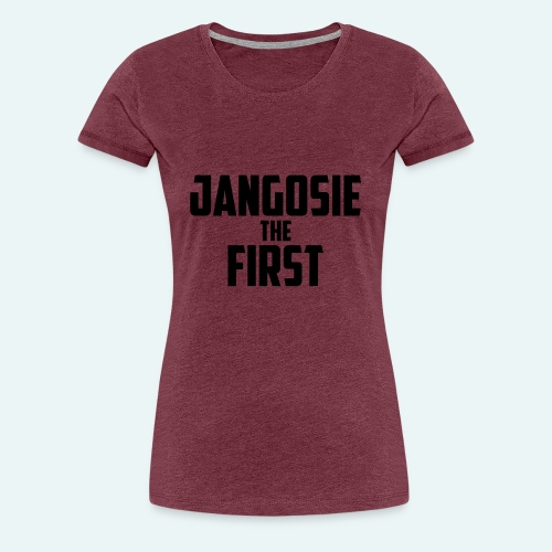 jangosiethefirst pet - Vrouwen Premium T-shirt