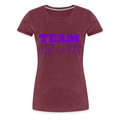 Team R N M Hoodie Purple, W - Women's Premium T-Shirt