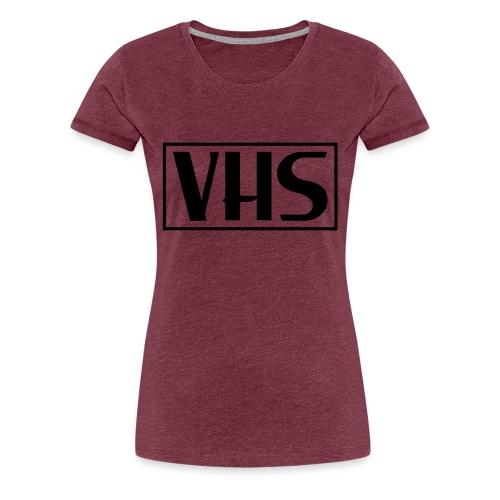 VHS Logo - Women's Premium T-Shirt