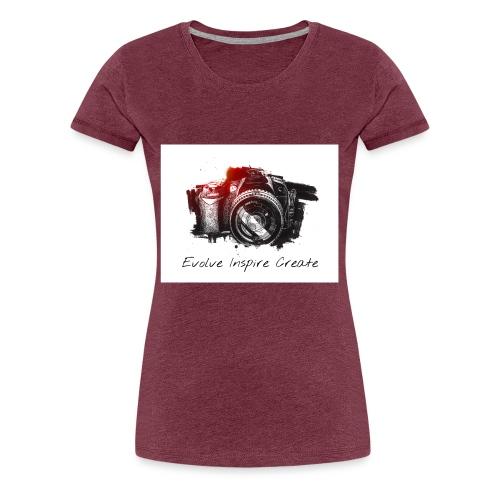 Evolve Inspire Create - Women's Premium T-Shirt