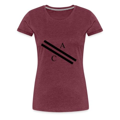 A\\C - T-shirt Premium Femme