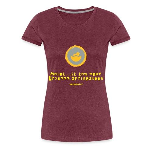 kom veur broezz springsteen - Vrouwen Premium T-shirt
