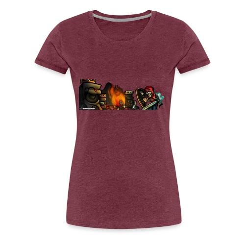 Warrior Fight! - Women's Premium T-Shirt