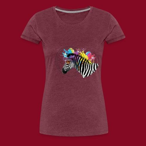 Watercolour-Z - Maglietta Premium da donna