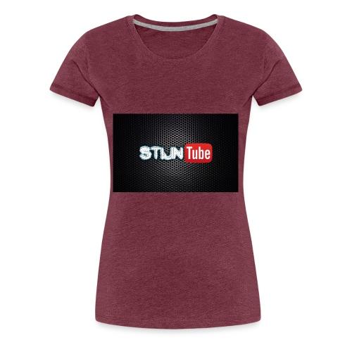 StijnTube - Hoesje I-Phone 5/5s - Vrouwen Premium T-shirt