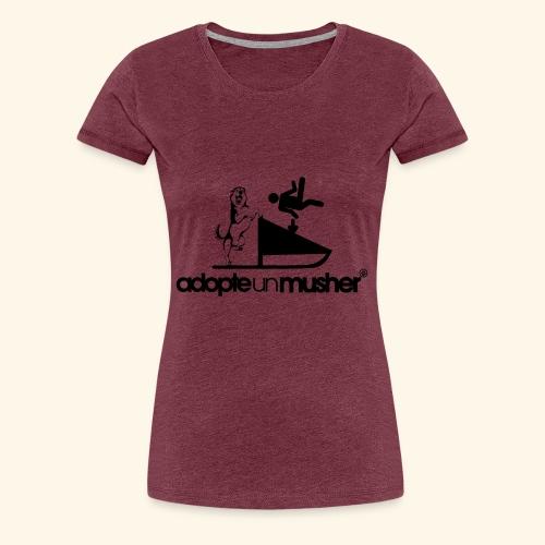 adopte un musher - T-shirt Premium Femme