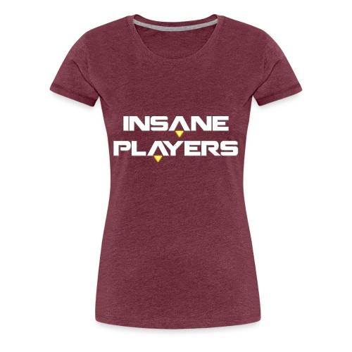 Logo Oficial Insaneplayers - Camiseta premium mujer