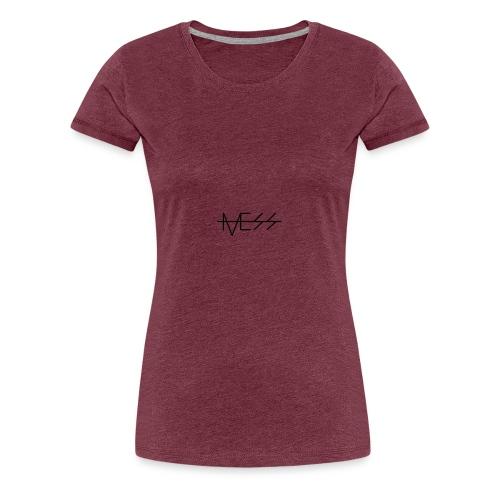 MESS t-paita - Naisten premium t-paita
