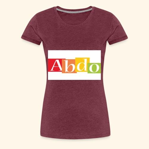 abdo 1 - T-shirt Premium Femme