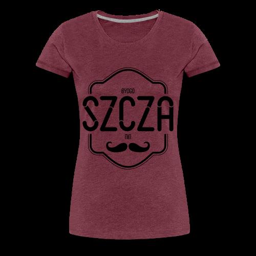 Bydgoszczanin z wąsem - Koszulka damska Premium