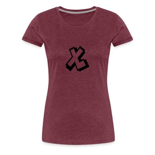 EXTRALARS MUISMAT VERTICAAL - Vrouwen Premium T-shirt