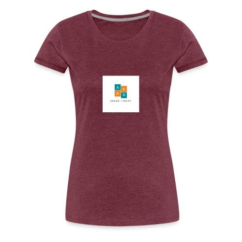 akram t shirt - T-shirt Premium Femme