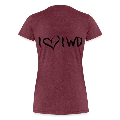 I Love Leeuwarden - Women's Premium T-Shirt