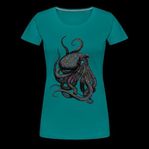 Oktopus Goa - Frauen Premium T-Shirt