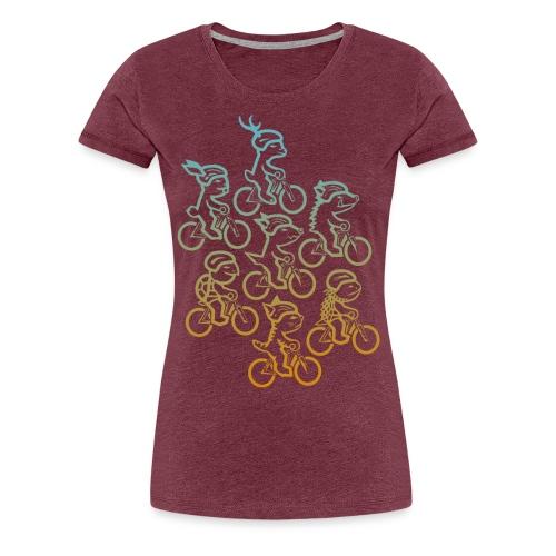 Manada ciclista - Camiseta premium mujer
