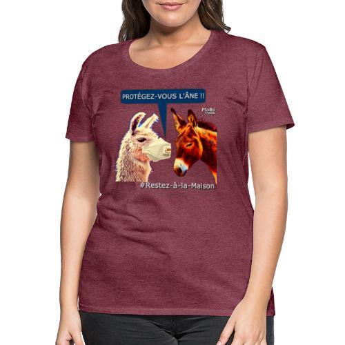 PROTEGEZ-VOUS L'ÂNE !! - Coronavirus - Frauen Premium T-Shirt