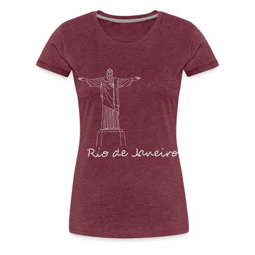 Rio de Janeiro - Maglietta Premium da donna
