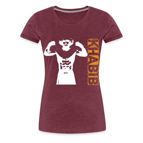 Khabib tshirt - T-shirt Premium Femme