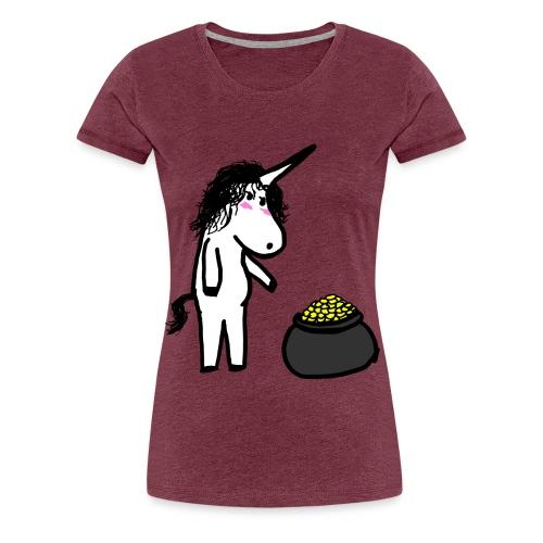 Oro unicorno - Maglietta Premium da donna