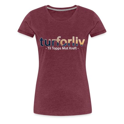 tiltopps - Premium T-skjorte for kvinner