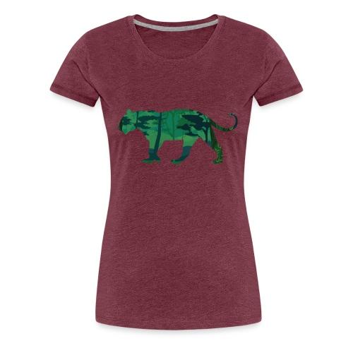 Tiger in the jungle... - T-shirt Premium Femme
