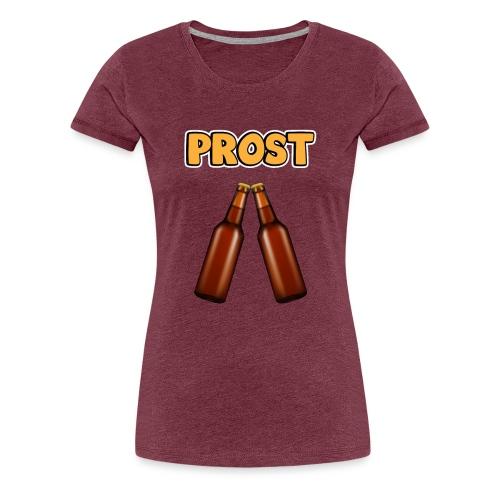 Prost Bier Flaschen - Frauen Premium T-Shirt