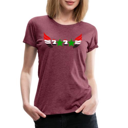 Syrien Neujahr 2020 Syrische Flagge - Frauen Premium T-Shirt