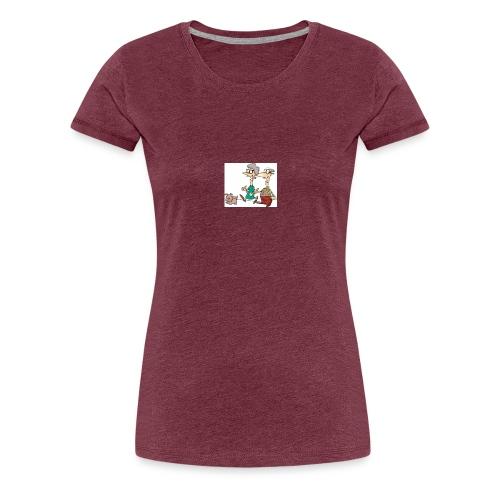 Alle folk kan være seje også gamle mennesker - Dame premium T-shirt