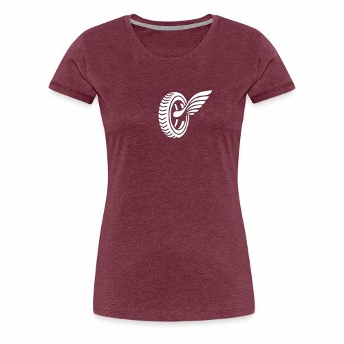 Car badge tires and wings - Women's Premium T-Shirt