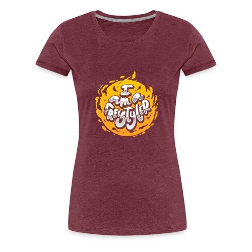 Yellow / Black - Women's Premium T-Shirt