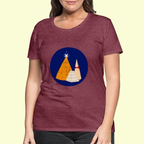 Xmas Cheese - T-shirt Premium Femme
