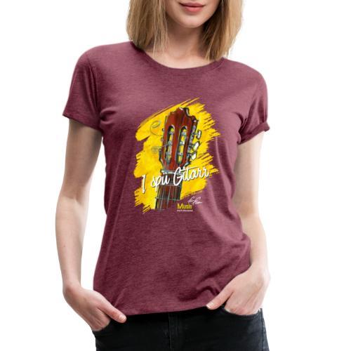 I spü Gitarr - limited edition '19 - Frauen Premium T-Shirt