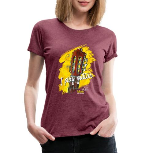 I play guitar - limited edition '19 - Frauen Premium T-Shirt