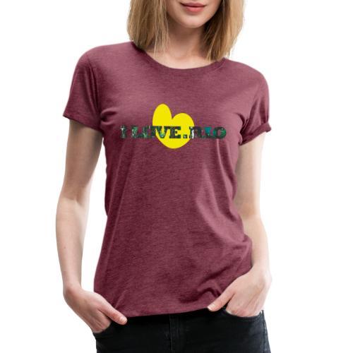 ILOVE.RIO TROPICAL N°1 - Women's Premium T-Shirt