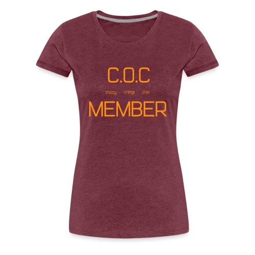 C.O.C MEMBER - Women's Premium T-Shirt