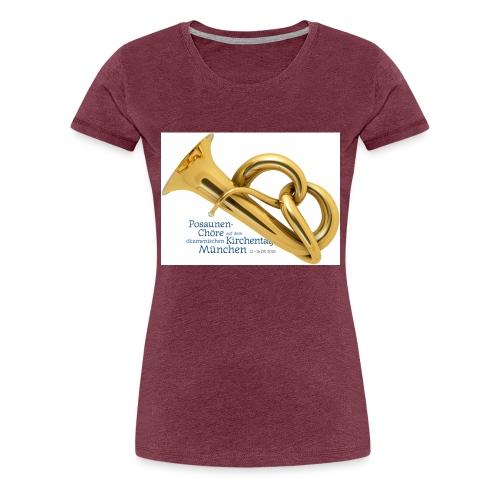 brezophon mit text - Frauen Premium T-Shirt