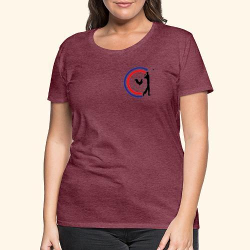 Le Golfeur Français - T-shirt Premium Femme