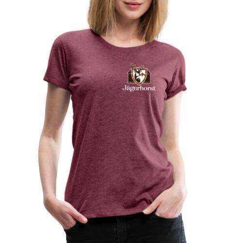 Jägerhorst Logo Weiss - Frauen Premium T-Shirt