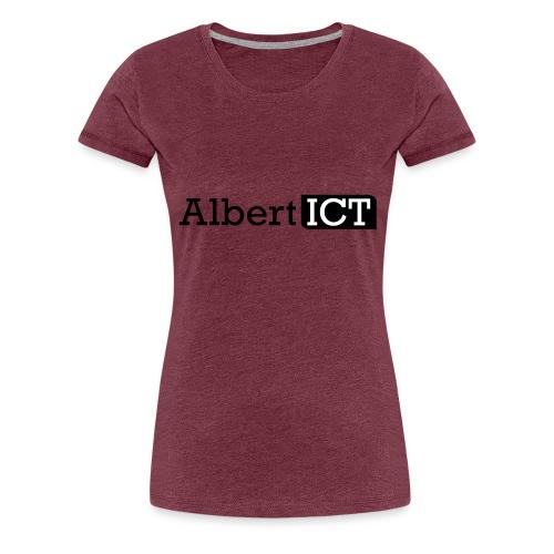 Logo_AlbertICT - Vrouwen Premium T-shirt