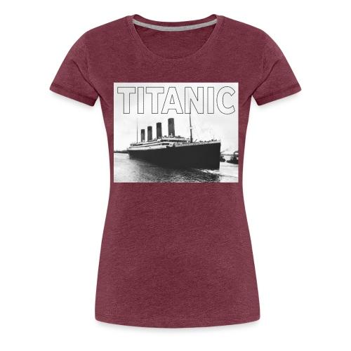 TITANIC sw - Frauen Premium T-Shirt