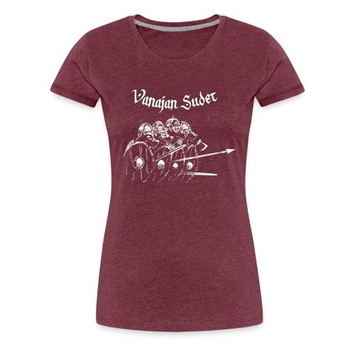 Kilpimuuri B - Naisten premium t-paita